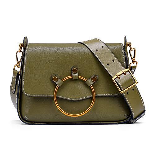 large sac cuir Wang femme bandoulière à à pour Nouveau Vert sac main sac à bandoulière Bruce en YEU7R7n