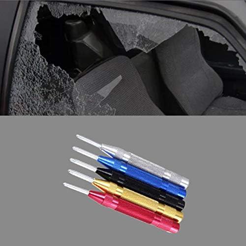 127mm自動センターパンチ調整可能なスプリング式金属ドリルツールセンターパンチドリルDIYツール金属鋼-青