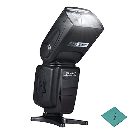 Andoer TRIOPO G1500 GN58 TTL Wireless Flash Speedlite 2.4G HSS 1/8000s 2.3s Auto Manual Zoom for Sony Alpha A7 A7R A7S A7II A7RII A7SII A6000 A6300 A6500 A77II A58 A99 ILCE600L