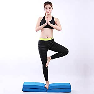 LJJ Yoga Mat 6 Mm Balance Pad TPE Entrenador de Equilibrio ...