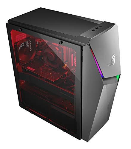 ROG Strix GL10DH Gaming Desktop PC, AMD Ryzen 5 3400G, GeForce GTX 1650, 8GB DDR4 RAM, 512GB PCIe SSD, Wi-Fi 5, Windows 10 Home, GL10DH-PH552