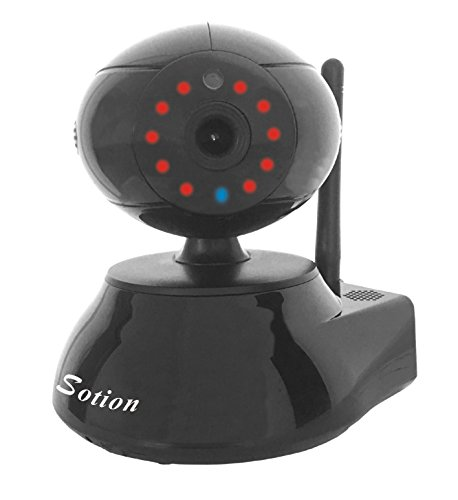 SOTION SK-01B Super HD 960P Baby Monitor, Internet WiFi Wireless Network IP Home Security Surveillance Video Camera System, Pet Monitor with Pan and Tilt, Two Way Audio & Night Vision