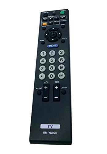 VINABTY New Rm-yd028 Replaced Remote Fit for Sony Bravia Kdl-46ve5 Kdl-46vl150 Kdl-52s5100 Kdl-52v5100 Kdl-52ve5 Kdl-52vl150 Kdl-55v5100 Klv-32s510a Klv-40s510a Klv-40sl50a Klv-46s510a Klv-52s510a Tv