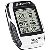 ROX 11.0 GPS SET Sigma Sport Fahrrad Computer White, Track-Navigation, Smart-Connectivity, Strava, Weiß