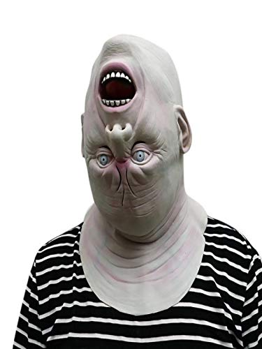 Sikye Very Cool Halloween Horrible Mask Down Full Head Deluxe Latex Face Mask Party Decoration ()