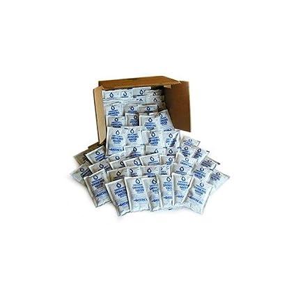 Amazon.com: datrex bolsas de agua de emergencia 125 ml cada ...