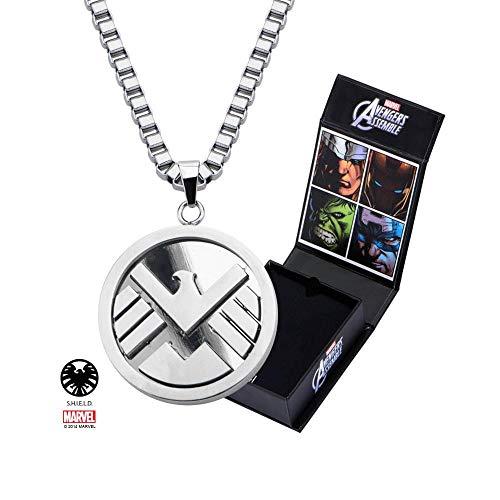 Agents of SHIELD Logo Pendant with Chain - Pendant Shield Logo