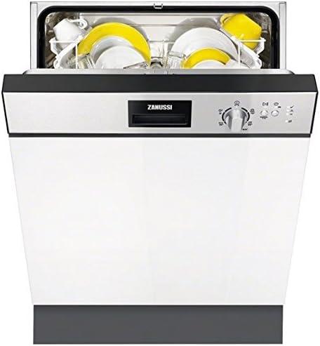 Zanussi ZDI13010XA Semi-incorporado 12cubiertos A+ lavavajilla ...