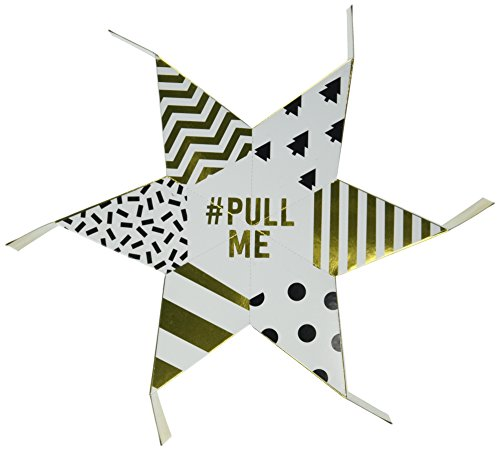 Talking Tables Star Sharing Cracker #PullMe Sharing Cracker for 6 for Christmas Parties and Dinners, (Best Christmas Crackers)
