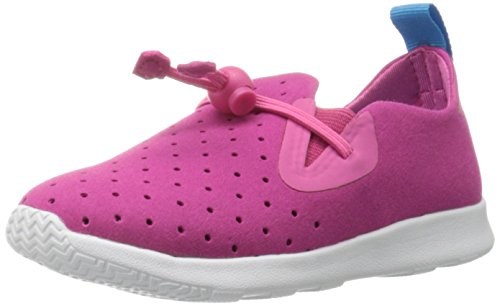native Kids Apollo Moc Child Slip On (Toddler), Pink/White, 9 M US Toddler ()