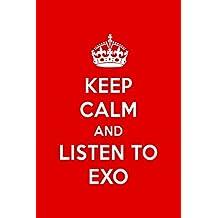 Keep Calm And Listen To EXO: EXO Designer Notebook