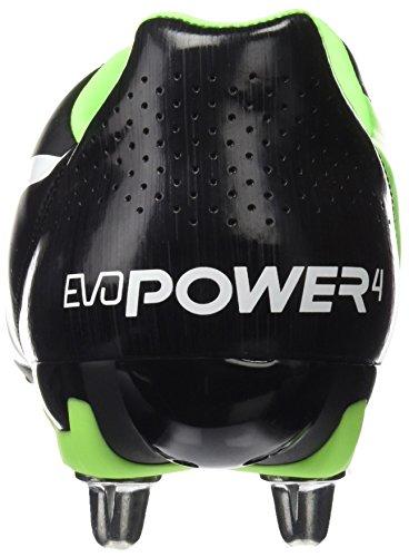 4 Hombre Negro puma green 2 Puma H8 de Botas 07 Black Gecko Rugby para Puma Evopower White 5R88znxq4