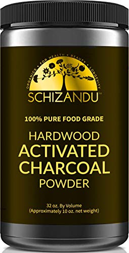 Activated Charcoal Powder, Food Grade Detox, Huge Jar, In Bulk, For Detoxification,Teeth Whitening,...