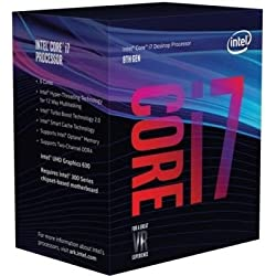 1 of Intel Core i7-8700K Desktop Processor 6 Cores up to 4.7GHz Turbo Unlocked LGA1151 300 Series 95W