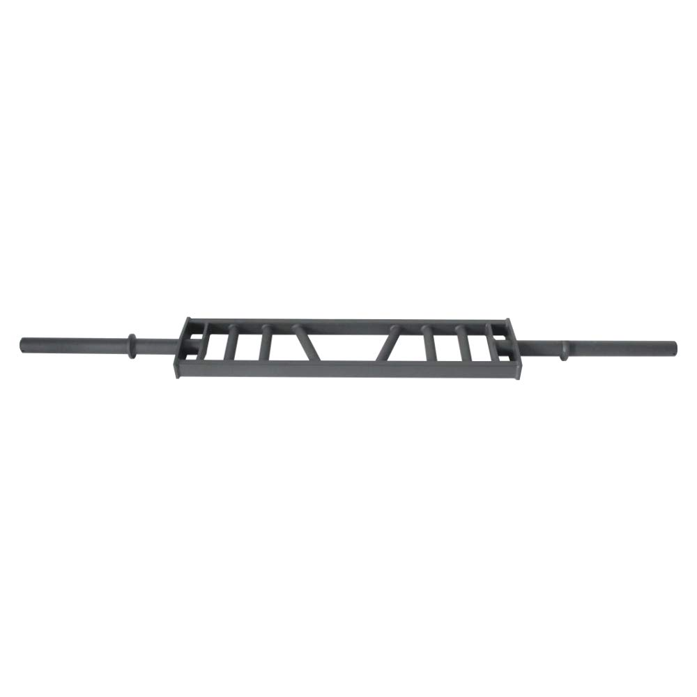 Suprfit Batwin Multigrip Bar   Heavy Duty Swiss Bar für Power Lifting  Aufnahme für 50 mm Scheiben   Material: Stahl   max. Tragkraft: 250 kg   Eigengewicht: 20 kg