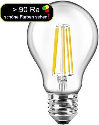 Blulaxa LED Filament Lampe Birnenform 10 Watt E27 warmweiß