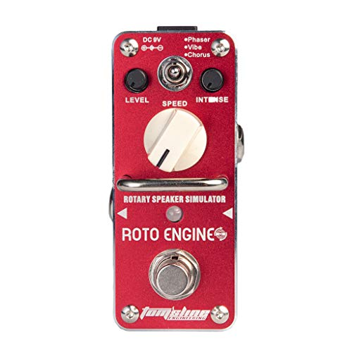 (B Blesiya Red ARE-3 Metal Guitar ROTO ENGINE Effect Pedal Intense Speed Level)