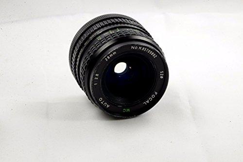 Focal MC auto 28mm f/2.8 Canon FD Manual Focus Lens (Focal Camera Lens)