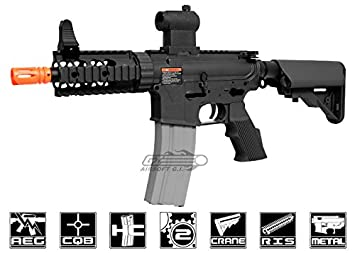 Amazon com : g&g m4 tr16 cqw airsoft aeg gun rifle bk