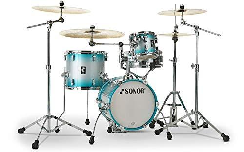 Sonor AQ2 Martini 4-piece Shell Pack w/Snare - Aqua Silver -