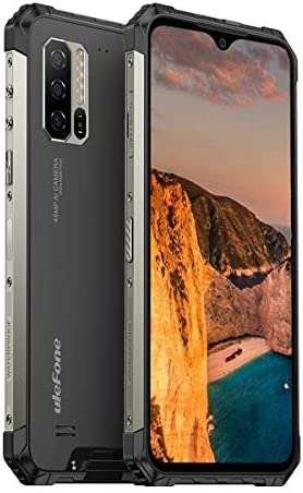 Ulefone Armor 7(2020) Rugged Phones,8GB+128GB Waterproof Rugged Cell Phones Unlocked 4G Android 10, 48MP+2MP+2MP, 16MP Camera, 6.3' FHD, Dual Sim Rugged Smartphone, 5500mA, Wireless Charge