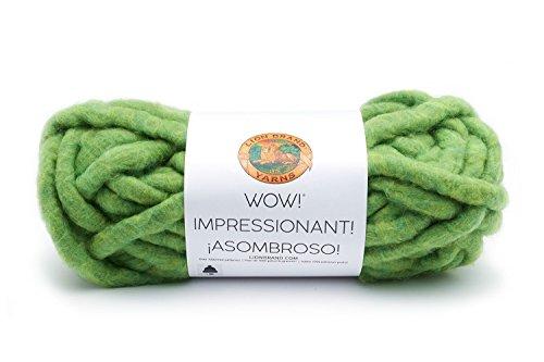 Wool Yarn Avocado - Lion Brand Yarn 932-134 Wow Yarn, Avocado Toast