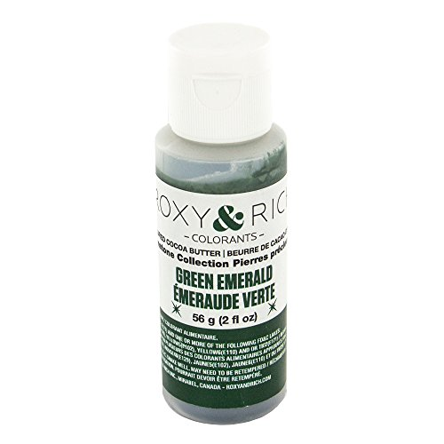- Cocoa Butter, Gemstone Emerald Green 2 Ounces by Roxy & Rich