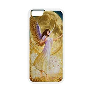 "Custom LiuXueFei Phone caseElegent Angels For Apple Iphone 6,4.7"" screen Cases -Style-10"