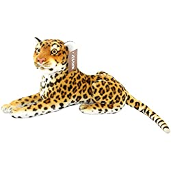 JESONN Stuffed Animals Toys Cheetah Spotted Leopard Plush (13.5 Inches)