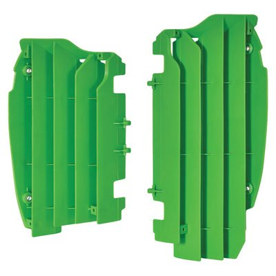 Polisport Radiator Louvers 2005 Green for Kawasaki KX450F 2012-2015
