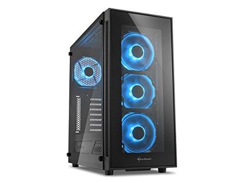 Centaurus Warrior 2.4 Gaming Computer - AMD Ryzen 7 2700X 4.1GHz Octa Core (8x), 16GB 2667MHz RAM, X370 MB, Nvidia GTX 1070 8GB, 250GB SSD + 2TB HDD, Windows 10 PRO, WiFi, Tempered Glass, Liquid