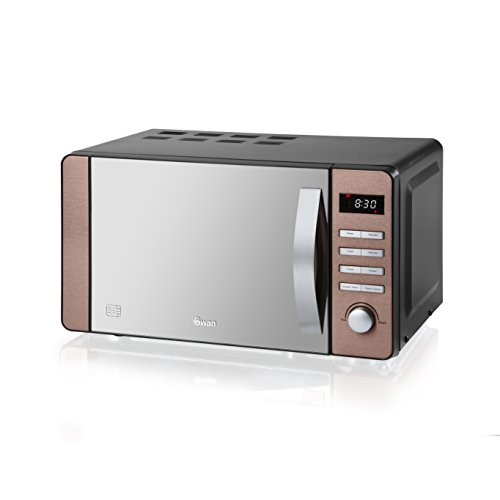 Swan Products SM22090COPN Digital Microwave, 20 Litre, Copper