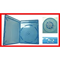 12.5 mm Viva Elite Blu-ray Single Disc Case Standard Size Hold 1 Disc (25 Pcs a Pack)