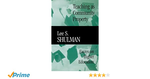 Teaching As Community Property Essays On Higher Education  Teaching As Community Property Essays On Higher Education   Economics Books  Amazoncom