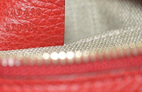 9a494ecdfc4 Gucci Women s Canvas Leather GG Guccissima Small Bree Crossbody Purse ...