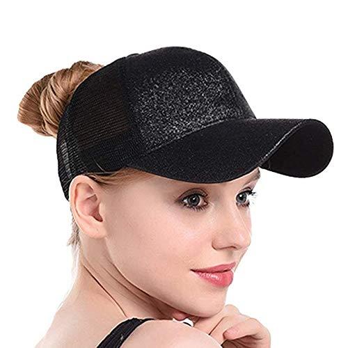 1f2563bec083a Amazon.com  Ponytail Baseball Cap