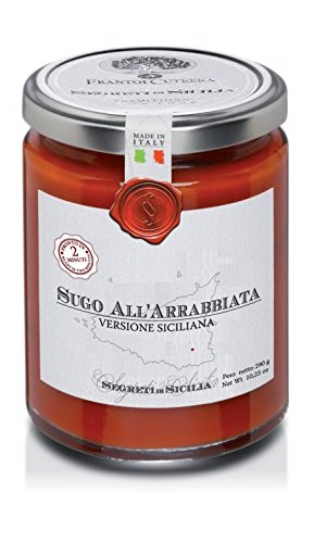 Arrabbiata spicy tomato sauce - Traditional Sicilian Recipe - 10.23 oz
