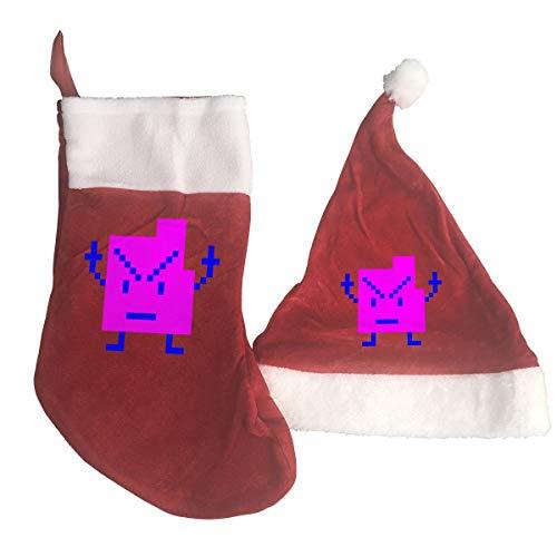 Zombie Ninja Christmas Stocking, 2PCS Christmas Stocking and