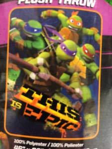 Teenage Mutant Ninja Turtles Epic Throw Blanket