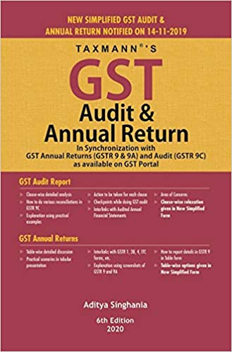 GST Audit & Annual Return-In Synchronization with GST Annual Returns (GSTR 9 & 9A) and Audit