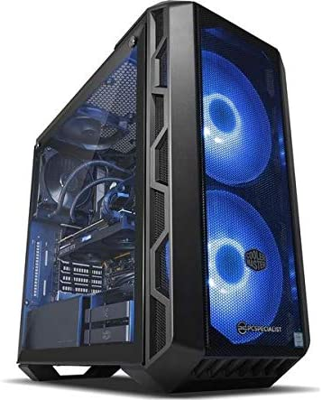 PC SPECIALIST Vortex Esports Edition Core i7-9700K 16GB RAM 2TB HDD+ 256GB SSD NVIDIA GeForce RTX 2070 8 GB Gaming PC Windows 10 (64-bit) Black