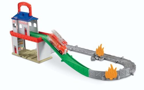 Fisher Price Thomas Train & Friends Sodor Search & Rescue Center Take N Play Flynn Diecast