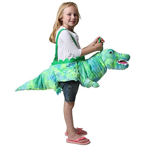 Green Ride On Crocodile Costume -
