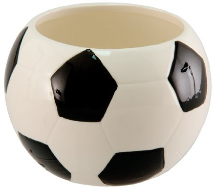 Soccer Bowl, Ceramic, Planter, Candy Bowl, Soccer Party Plate ()