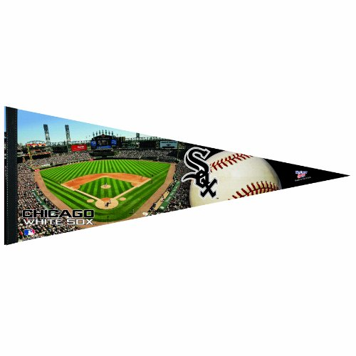 MLB Chicago White Sox 12-by-30 Inch Premium Quality Pennant