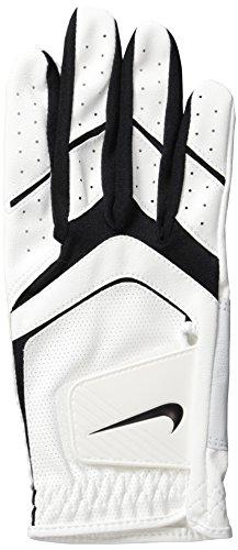 Nike Men's Dura Feel Golf Glove (White), Medium-Large, Right Hand (Nike Right Hand Glove Golf)