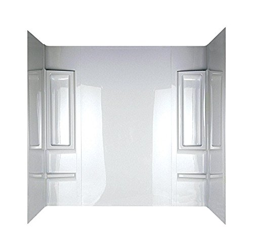 shower+wall Products : DELTA GIDDS-2490797 Faucet Proclaim Bathtub Wall Set, White
