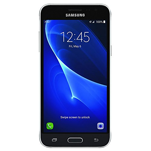 Samsung Galaxy Express Prime AT&T Cellphone, Black,  SM-J320a, 16GB (Best Prepaid Cell Phone Canada)