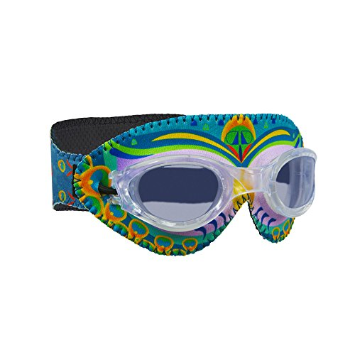 Giggly Goggles New 2018 Unique Patented Design|Comfortable Neoprene Swimming Goggles for Toddlers, Kids and Adults, Easy to Put on, Dont Pull Hair or Hurt The Nose Bridge| Anti Fog Lenses