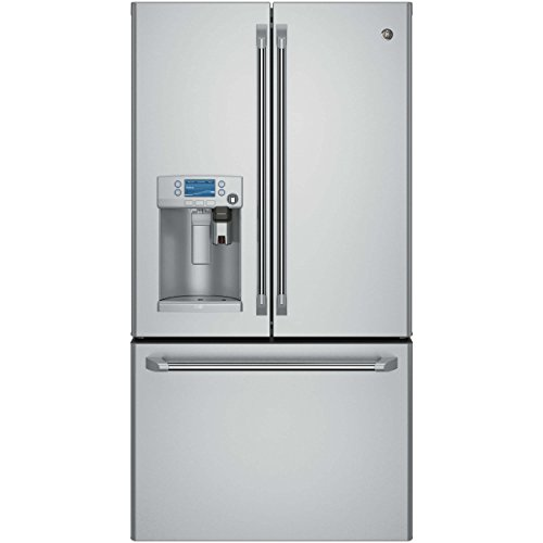 GE CFE28USHSS Cafe 27.7 Cu. Ft. Stainless Steel French Door Refrigerator - Energy Star by GE